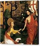 Noli Me Tangere Canvas Print by Martin Schongauer