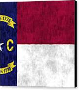 North Carolina Flag Canvas Print by World Art Prints And Designs