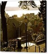 Norway - Bergen - Summertime Canvas Print by Hilde Mariann Hansen