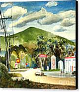 Nostalgia Arcadia Valley 1985  Canvas Print