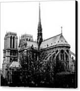 Notre Dame Canvas Print by Rita Haeussler