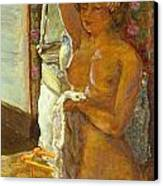 Nude Against The Light Canvas Print by Granger