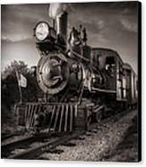 Number 4 Narrow Gauge Railroad Canvas Print by Bob Orsillo