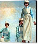 Nurse's Holiday Canvas Print by Kevin Lawrence Leveque