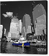 Nypd Blue  Canvas Print by Rob Hawkins