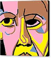 Obama Canvas Print by Anita Dale Livaditis