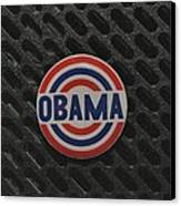 Obama Canvas Print by Rob Hans
