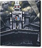 Obey Resistance Is Futile Canvas Print by Larry Butterworth
