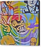 Occupy 4 Peace Canvas Print