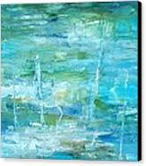 Ocean I Canvas Print by Tia Marie McDermid