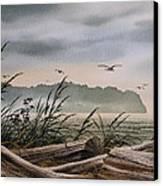 Ocean Shore Canvas Print by James Williamson
