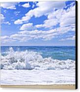 Ocean Surf Canvas Print by Elena Elisseeva