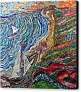 Ocean View Canvas Print by Matthew  James