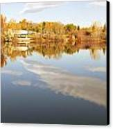 October Reflections Canvas Print