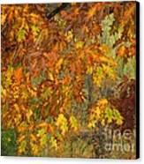 October Watercolors_1 Canvas Print by Halyna  Yarova