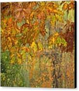October Watercolors_2 Canvas Print