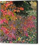 October Watercolors_3 Canvas Print