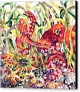 Octopus Garden Canvas Print