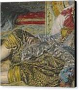 Odalisque Canvas Print by Pierre Auguste Renoir