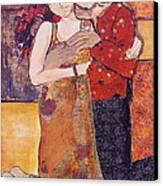 Ode To Klimt Canvas Print by Debi Starr