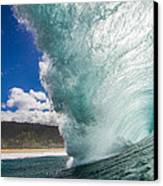Off The Wall Canvas Print by Doug Falter