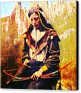 Oglala Homeland Canvas Print