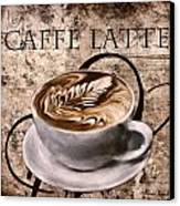 Oh My Latte Canvas Print by Lourry Legarde