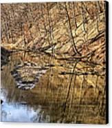 Ohio And Erie Canal Canvas Print by Patricia Januszkiewicz
