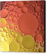 Oils Spots  Canvas Print by Aqil Jannaty