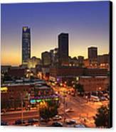 Oklahoma City Nights Canvas Print