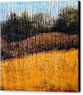 Oklahoma Prairie Landscape Canvas Print by Ann Powell