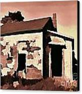 Old Abandoned House In Cape Breton Canvas Print by John Malone