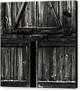 Old Barn Door - Bw Canvas Print by Paul W Faust -  Impressions of Light