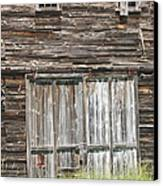 Old Barn In Maine Canvas Print by Keith Webber Jr