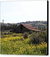 Old Barn In Sonoma California 5d22234 Canvas Print