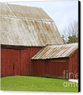 Old Barn Canvas Print by Kathy DesJardins