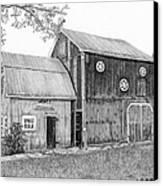 Old Barn Canvas Print
