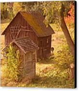 Old Blacksmiths Shop  Canvas Print