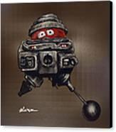 Old Bob Canvas Print by Jorge Terrell