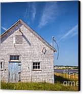 Old Building In North Rustico Canvas Print