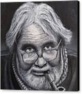 Old Character Canvas Print by David Hawkes