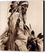 Old Cheyenne Canvas Print