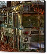Old City Bus Canvas Print by Paul Herrmann