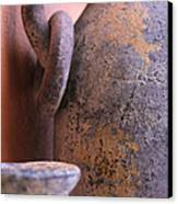 Old Clay Pots Canvas Print by Robert Bascelli