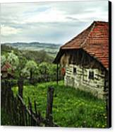 Old Cottage Canvas Print by Jelena Jovanovic