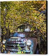 Old Dodge Canvas Print by Debra and Dave Vanderlaan