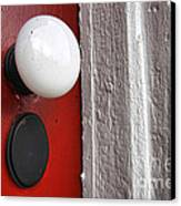 Old Doorknob Canvas Print by Olivier Le Queinec