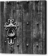 Old English Church Door Handle Canvas Print by Tim Gainey