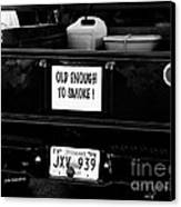 Old Enought To Smoke Canvas Print by   Joe Beasley
