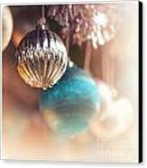 Old-fashioned Christmas Decorations Canvas Print by Jane Rix